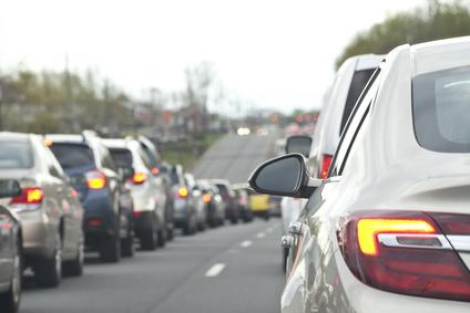 Rush hour traffic dread